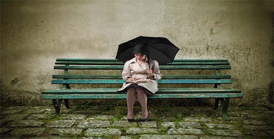 одинокая-женщина