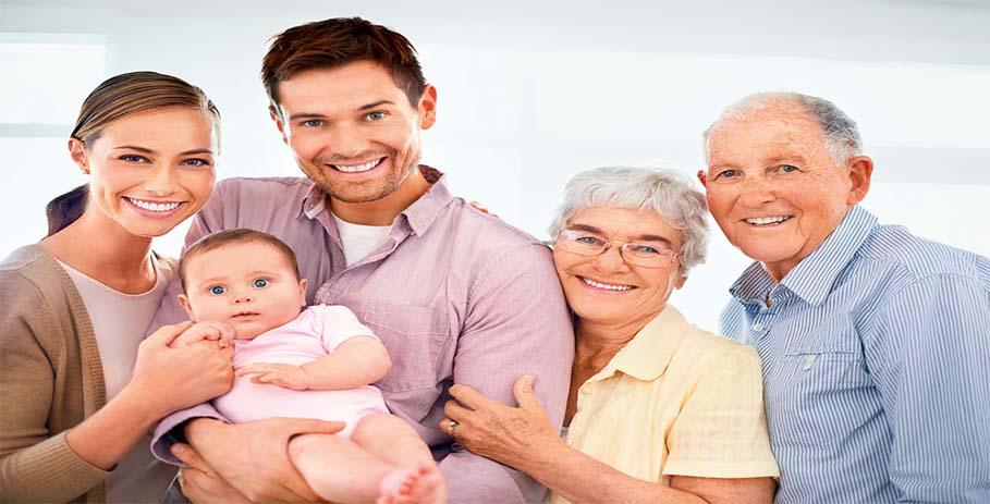 Три поколения под одной крышей