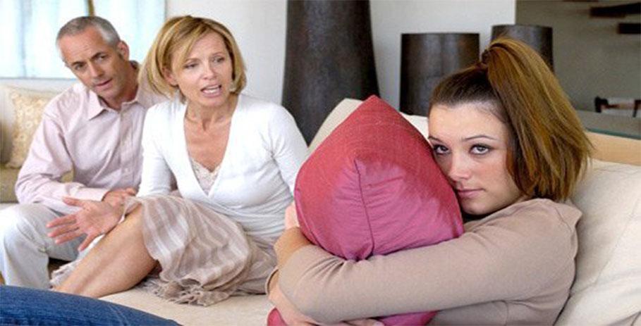 Конфликты между родителями и детьми