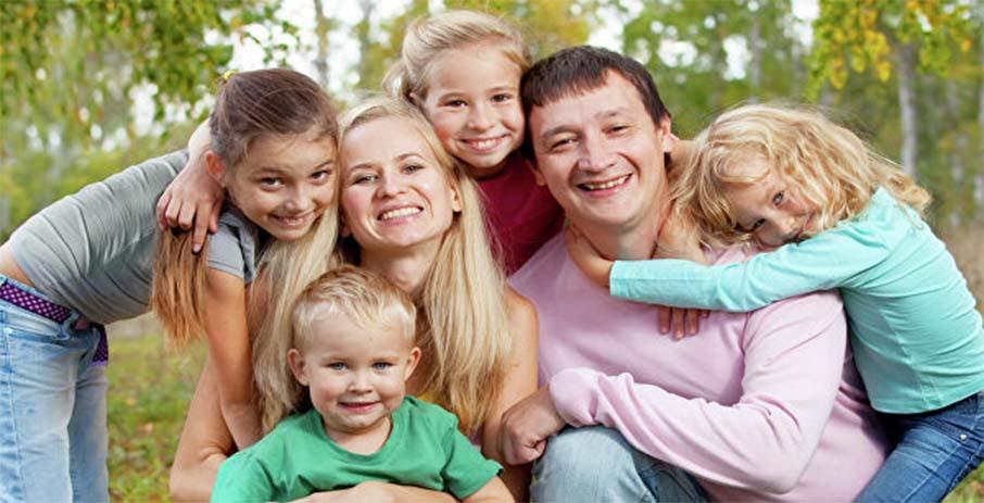 Как воспитать ребенка в многодетной семье