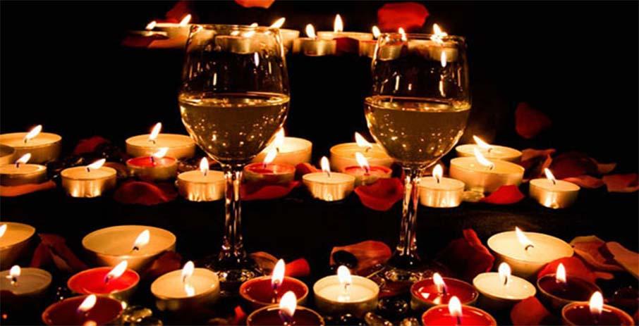 Свидание с любимым при свечах