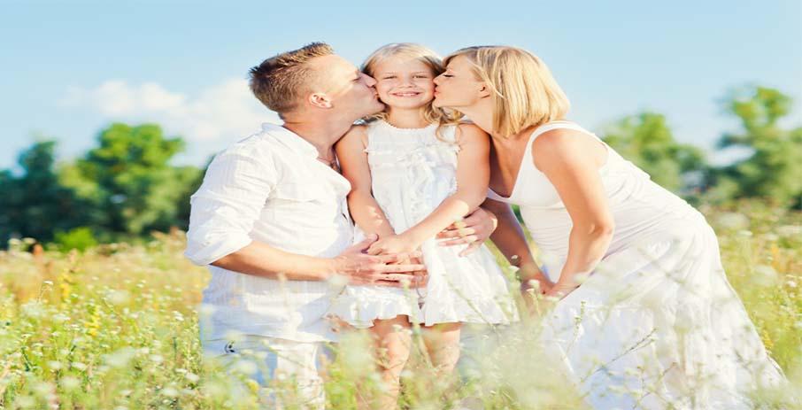 Создание позитивной атмосферы в семье или как показать ребенку свою любовь