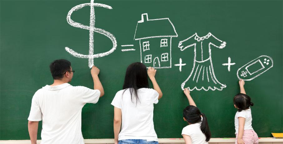 Как планировать бюджет в семье